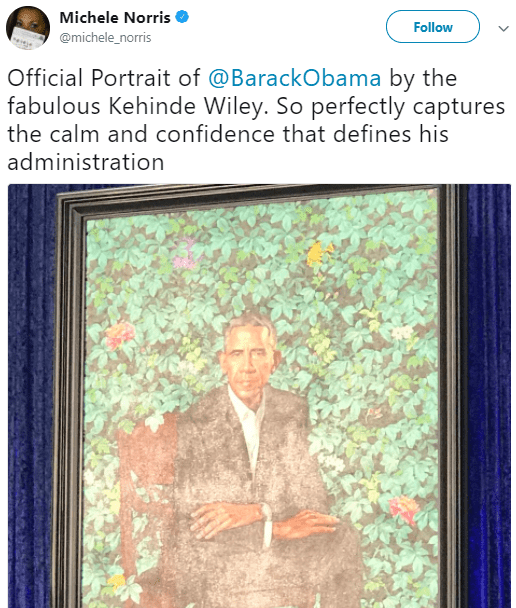 5a842e6b235f7 - People have strong reactions to Barack and Michelle Obama's portraits