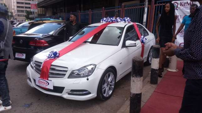 5a84b8038c111 - 20-year-old girl borrows money from her dad to buy her boyfriend of 4years a brand new Mercedes on Valentine's day (Photos)