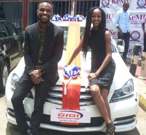 5a84b8a676c55 - 20-year-old girl borrows money from her dad to buy her boyfriend of 4years a brand new Mercedes on Valentine's day (Photos)