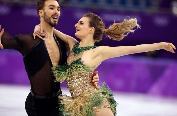 Photos: French Ice dancer Gabriella Papadakis suffers