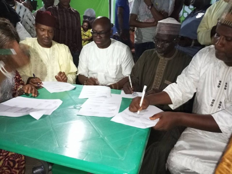 Photos: Fulani herdsmen?take traditional oath to assure Ekiti State residents of peaceful co-existence