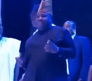 Dancing senator, Ademola Adeleke, gives sterling performance at Silverbird Man of the Year Award (videos)