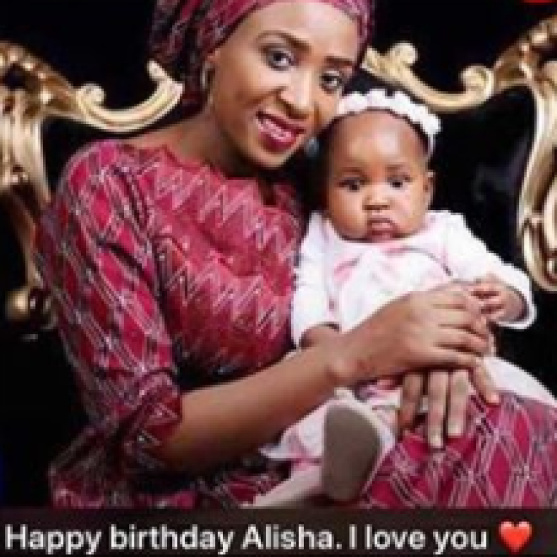 Alleged husband killer Maryam Sanda organizes birthday party for daughter a day after release from prison