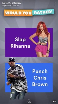 Snapchat forced to apologise for offensive Rihanna and Chris Brown advert