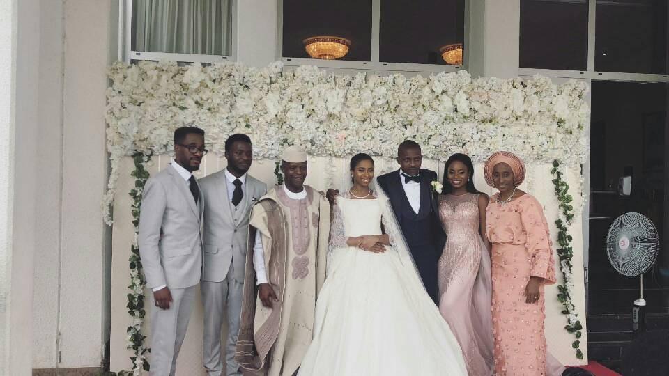 First photos from the wedding of VP Yemi Osinbajo
