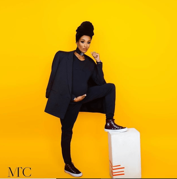 Checkout the photo shoot Dija did just a day before she welcomed a daughter