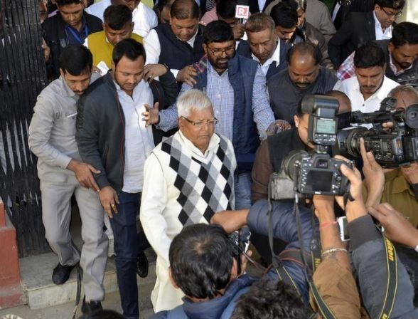 69-year old Indian politician,?Lalu Yadav?gets 14-year prison sentence for embezzling?37 million rupees