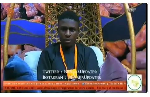 Here is a throwback video where BBN housemates Lolu said what broke Anto