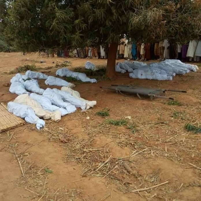 26 people killed as gunmen open fire on villagers in Zamfara (graphic)