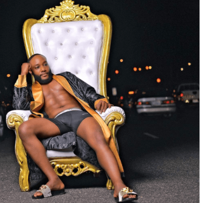 Kcee attempts to break the internet with semi-nude photos