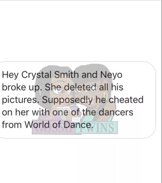 NeYo reportedly cheated on his pregnant wife with a dancer