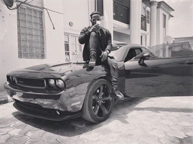 Nigerian rapper, Zoro adds a Chevrolet Camaro whip to his garage?