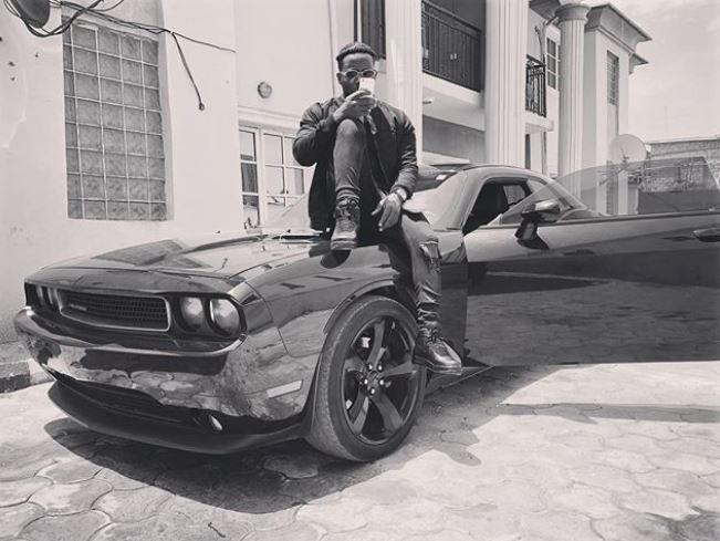 Nigerian rapper, Zoro adds a Chevrolet Camaro whip to his garage?