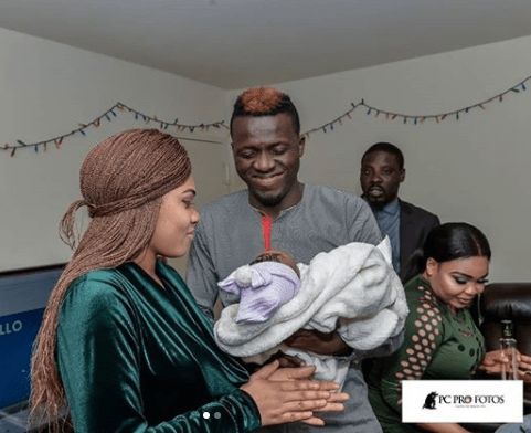 Photos from the naming ceremony of comedian, Akpororo