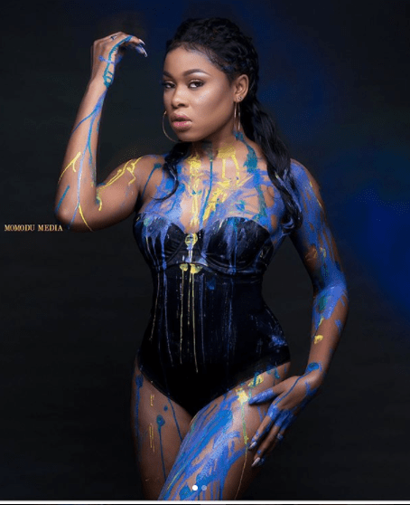 #BBNaija housemate, Princess serving major hotness in sexy swimwear photos