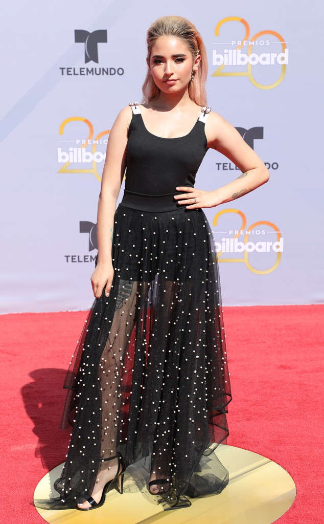 Pictures: Awesome red carpet photos from 2018 Billboard Latin Award