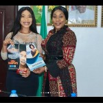 Tonto Dikeh as Ambassador for NAPTIP