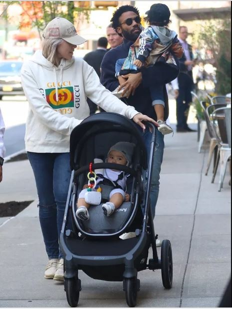 Actor Donald Glover makes rare family outing in New York City (Photos)