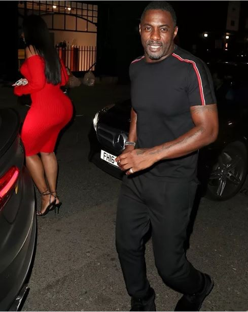 Check out the banging body on Idris Elba