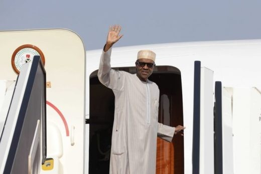 Image result for President Buhari off to the UK to see his doctor