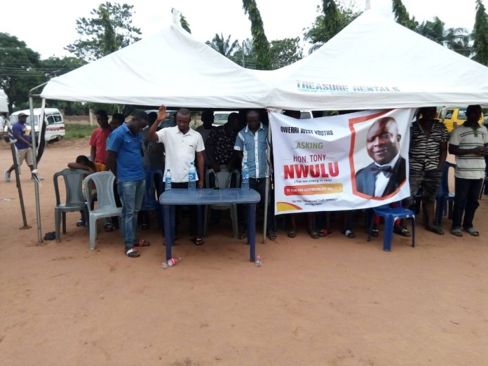 Road To 2019: Imo State Youth Groups Call on Lawmaker, Tony Nwulu to Run For Governorship (Photos)