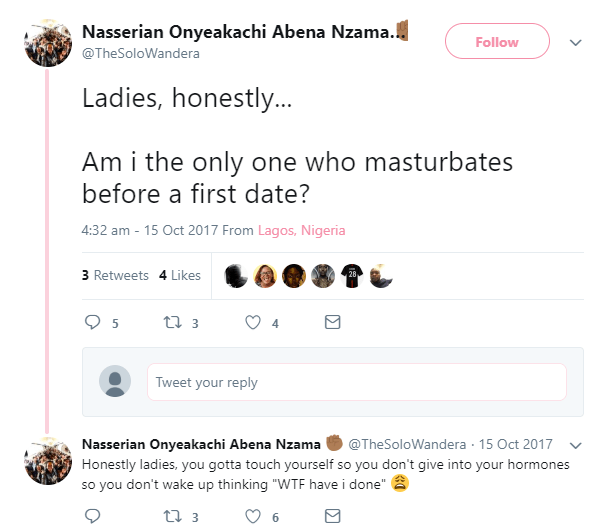 5afc337bbaf78 - Medical experts says it not ok to masturbate before date