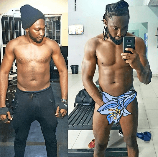 Uti Nwachukwu attempts to break the internet with semi nude photo