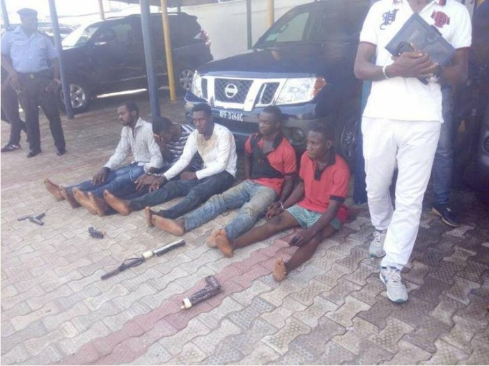 Photos: Vikings And Aiye cult members arrested in Anambra
