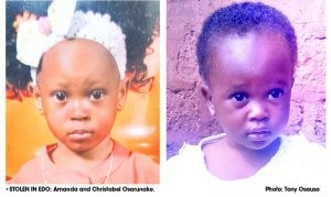 Photos: One month after moving into compound, tenants disappear with landlady?s 2 children in Edo