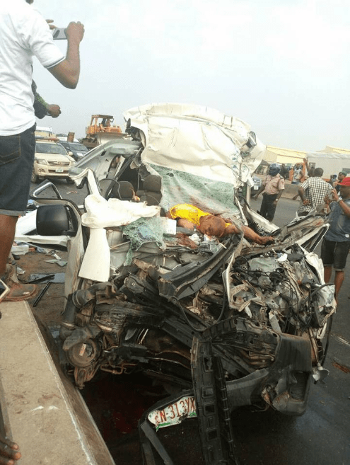 Identities of 8 Edo indigenes killed in accident shortly after they arrived Nigeria from Spain revealed (photos)