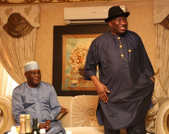 Photos: Atiku Abubakar meets Goodluck Jonathan in Bayelsa