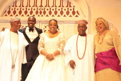 One year after their elaborate wedding, Obasanjo