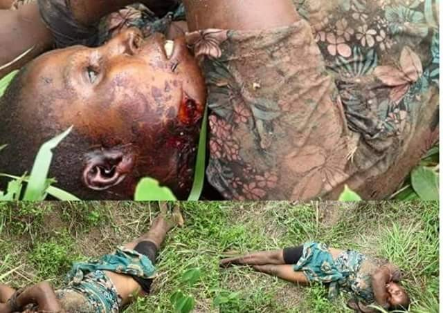 Widow who was raped and killed by Fulani herdsmen in Anambra State, laid to rest