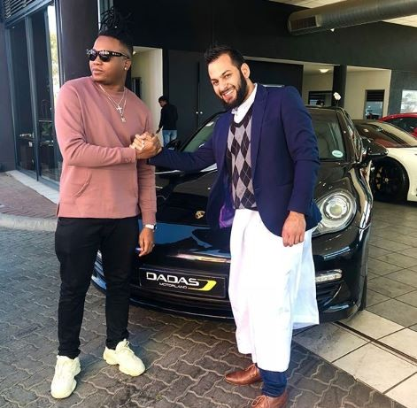 Photos: Nigerian music producer,?Kiddominant acquires brand new 45million naira Porsche Panamera