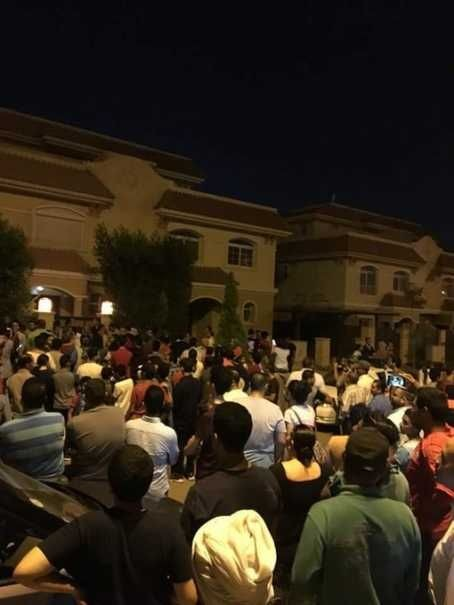 Fans of Mohammed Salah turn up at his house in Egypt after his address was leaked online