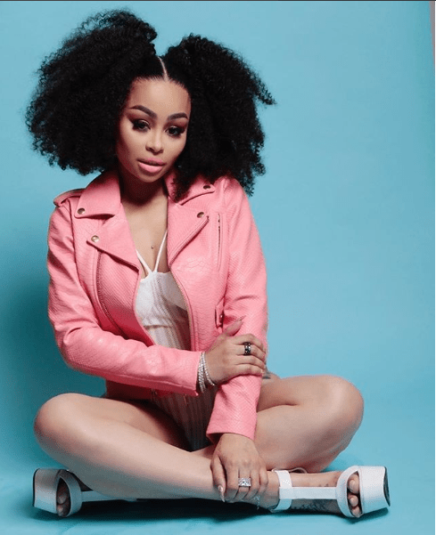Blac Chyna flaunts her curvy backside in new saucy photos