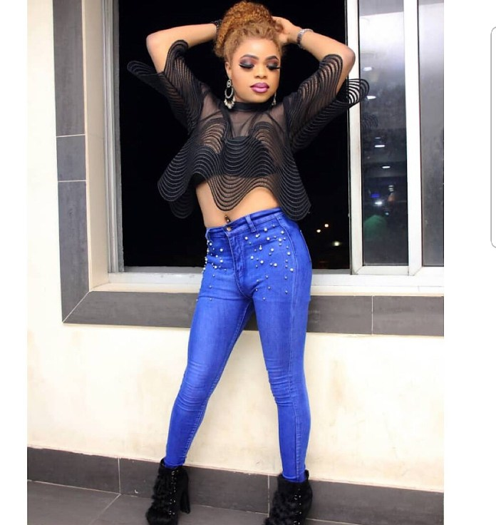 Bobrisky shares sexy photos of himself but his followers notice something