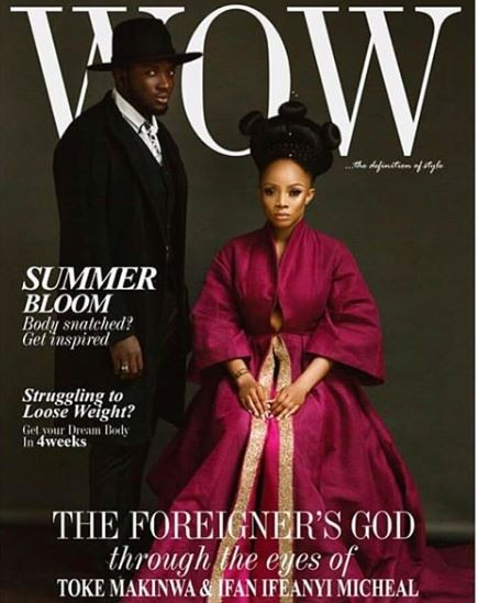 Photos: Toke Makinwa is a goddess on the cover of Wow Magazine