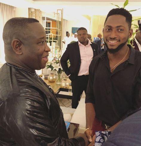BBNaija winner, Miracle meets with President Of Sierra Leone, Brigadier Julius Maada Bio (Photos)