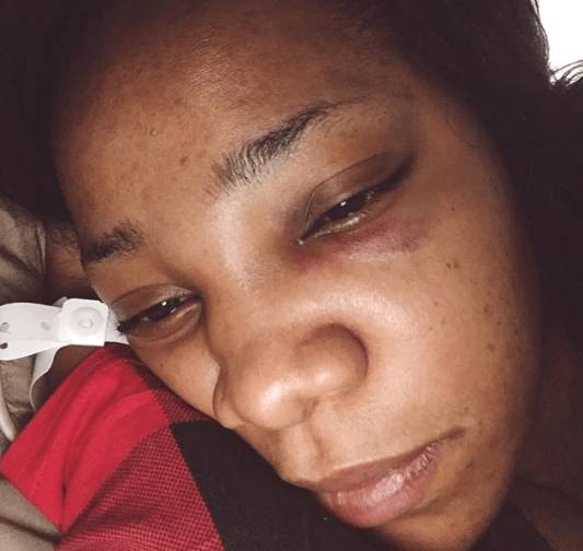 Juliet Mgborukwe shares videos of estranged husband Chima assaulting her, claims he married 2 wives before her but they left due to domestic violence