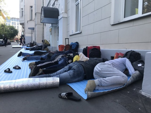 nigerians stranded at russia