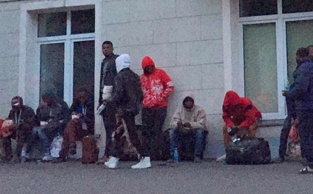 nigerian stranded at russia
