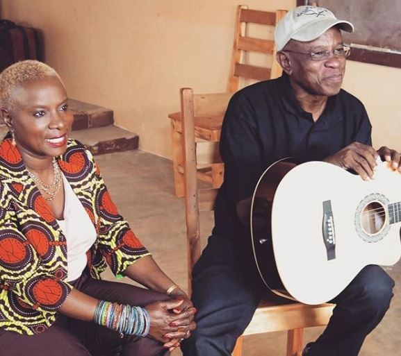 Legendary musician, Angelique Kidjo mourns the death of her brother