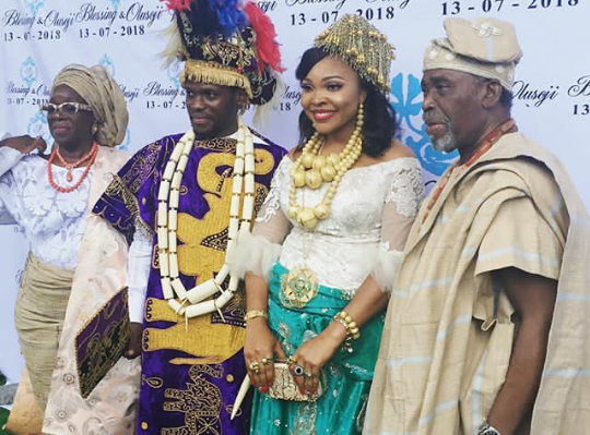 Photos & Videos From Olusoji Jacobs Wedding, Son Of Actors Olu Jacobs and Joke Silva