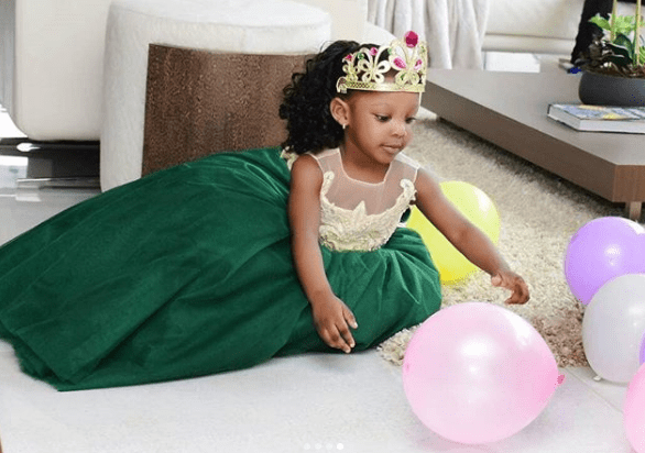 Singer, Timaya shares beautiful photos of his daughter who turns 3 today