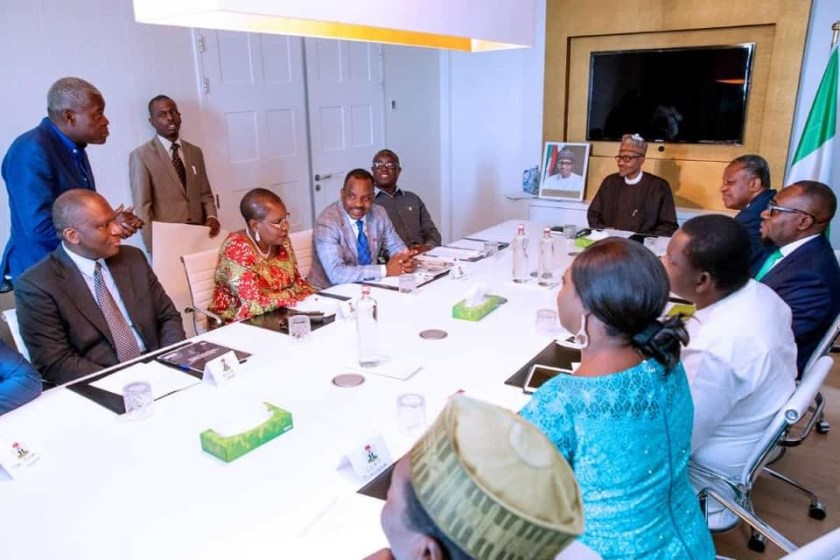 Photos: President Buhari meets with Nigerians in The Netherlands