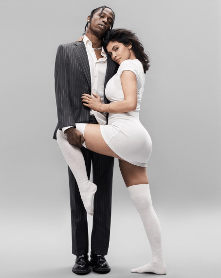 Kylie Jenner and Travis Scott cover GQ magazine and speak on love, making it work, and the Kardashian curse (photos/video)