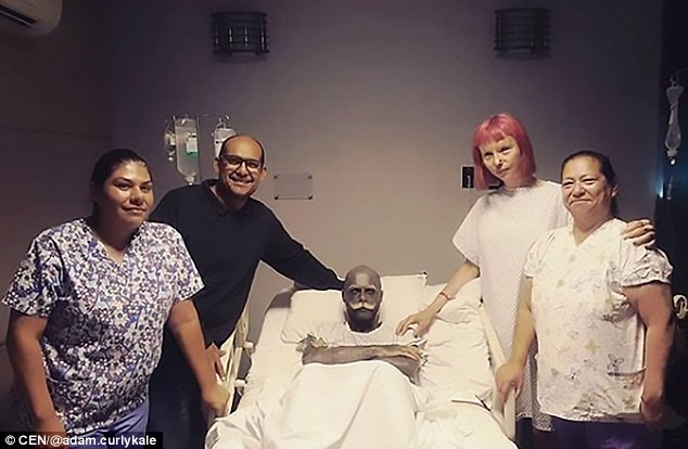 TF? Man whose body is covered in tattoos has his penis, testicles and nipples removed 'because they spoiled the view of his body art' (Photos)