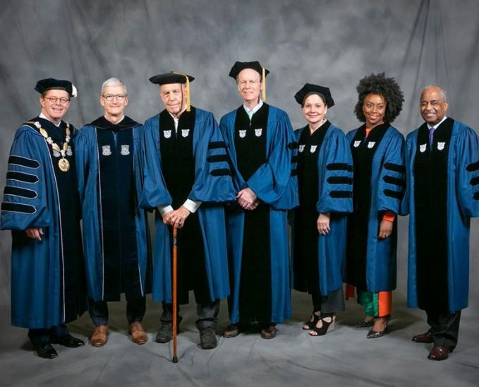 Duke University confers honorary degree on Chimamanda Adichie (Photos)
