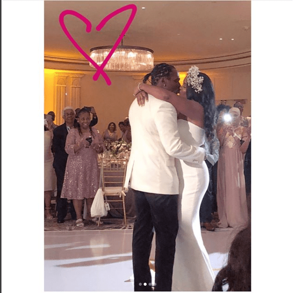 Photos from the wedding of rapper Pusha T and his beautiful bride Virginia Williams?